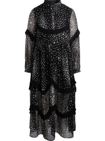 Jovonna Lorenzo Black Dress With Stars.
