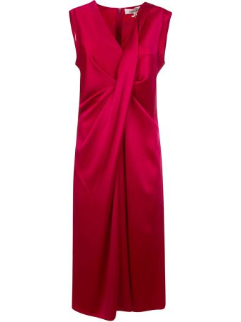 Diane Von Furstenberg Sleeveless Gathered Dress