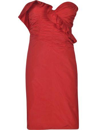 ALEXACHUNG Alexa Chung Ruffled Dress
