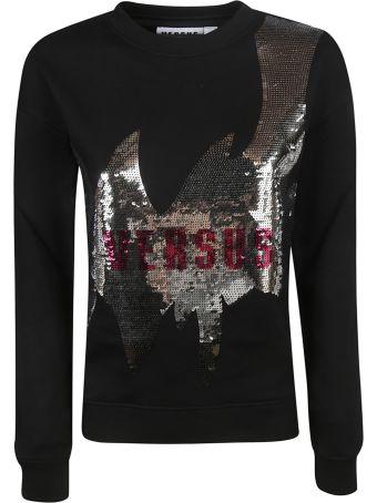 Versus Versace Logo Sequin Sweatshirt