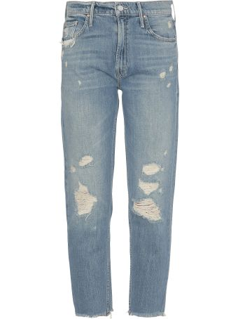 Mother The Cardinal Sinner Ankle Chew Jean