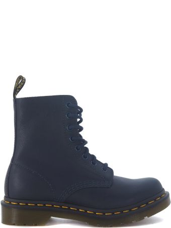 Dr. Martens Pascal Blue Nappa Leather Boot.