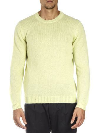 Low Brand Yellow Wool Sweatshirt