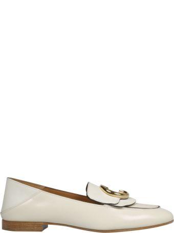 Chloé C Signature Plaque Loafers