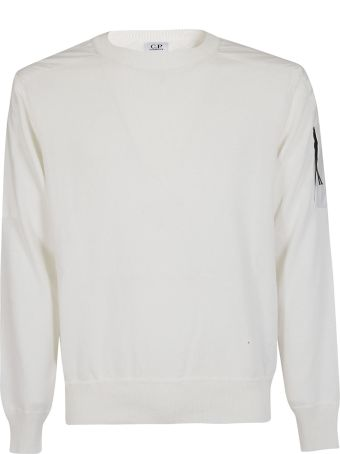 C.P. Company Shoulder Patch Sweater