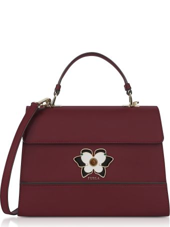 Furla Ribes Mughetto Medium Top Handle Satchel Bag