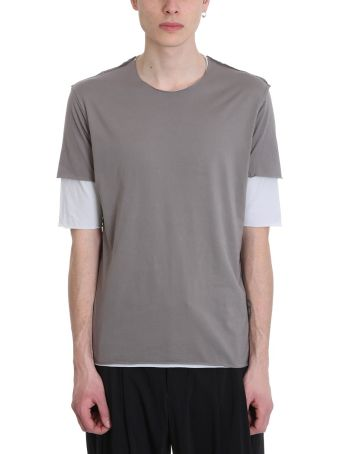 Attachment Double Cotton T-shirt