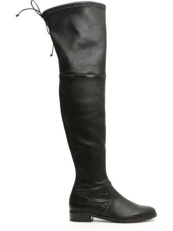 Stuart Weitzman Leather Lowland Boots