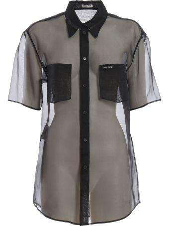 Miu Miu Sheer Shirt