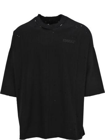 Ben Taverniti Unravel Project Unravel Unravel Project Skull Print T-shirt