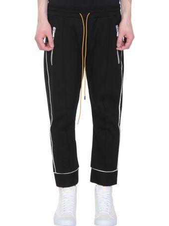 Rhude Smoking Black Nylon Pants
