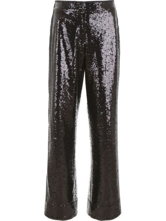 In The Mood For Love Sequins Palazzo Pants