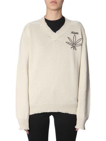 Riccardo Comi Vegan  Embroidered Jersey