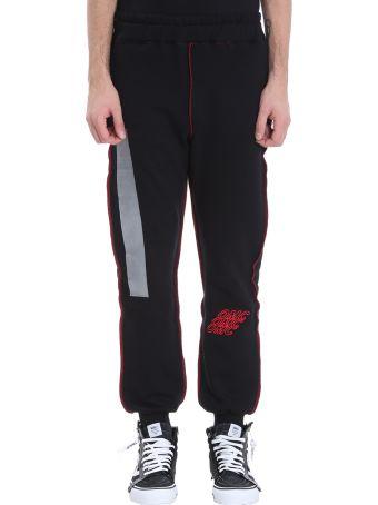 OMC Black Cotton Pants
