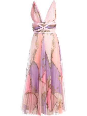Versace Collection Pleated Dress