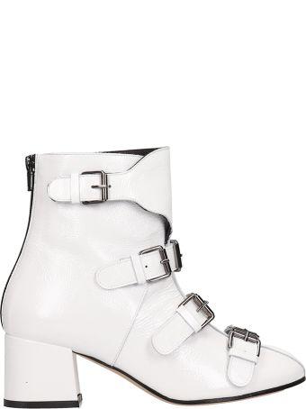 Marc Ellis White Patent Leather