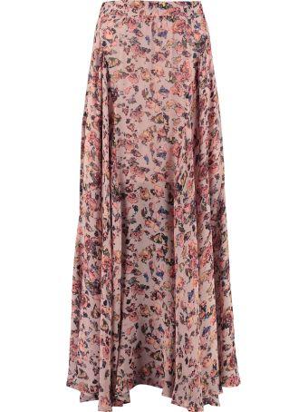 IRO Floral Print Maxi Skirt