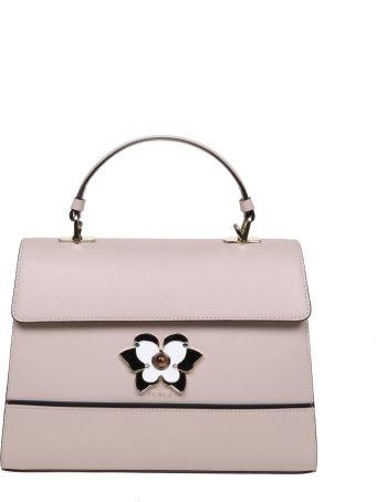 Furla Hand Bag Mughetto M Di Pelle Color Pink