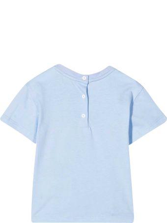 Fendi T-shirt Azzurra Neonato