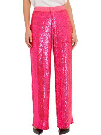 Parosh Full Sequins Wide Pants