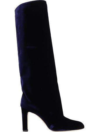 Marskinryyppy Margar Velvet Knee Boots