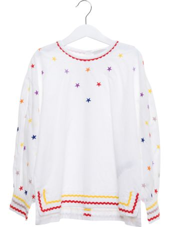 Stella McCartney Stars Embroidery Blouse
