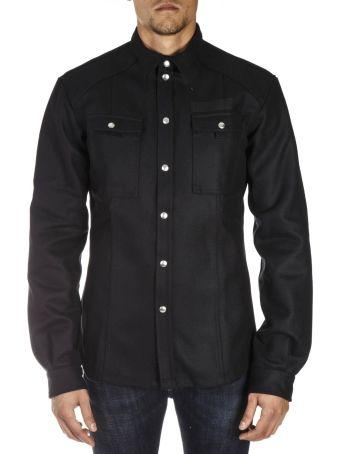 Diesel Black Gold Black Waterproof Pudded Jacket