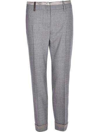 Peserico Contrast Trousers