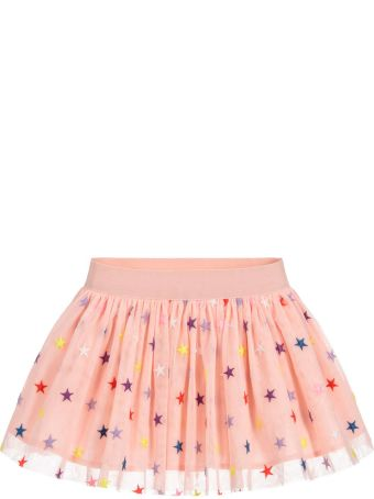 Stella McCartney Kids Pink Skirt In Tulle