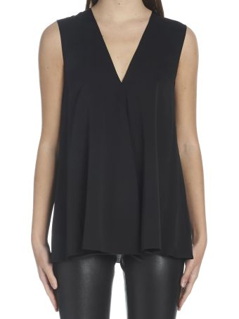 Theory 'v-neck A-line' Top