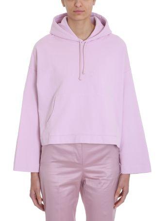 Acne Studios Pink Cotton Joghy Emboss Sweatshirt