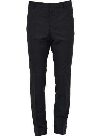 Valentino Wool Mélange Trouser