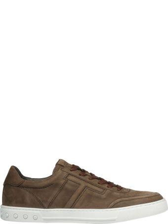 Tod's Embossed T Sneakers