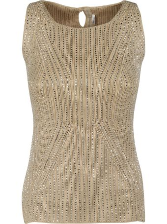 Ermanno Scervino Perforated Top