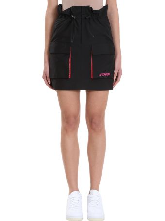 HERON PRESTON Cargo Elastic Waist Skirt