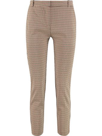 Pinko Bello 90 Houndstooth Check Trousers