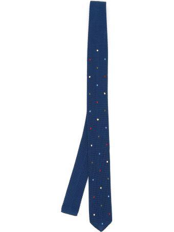 Thomas Mason Paul Tie With Polka Dots