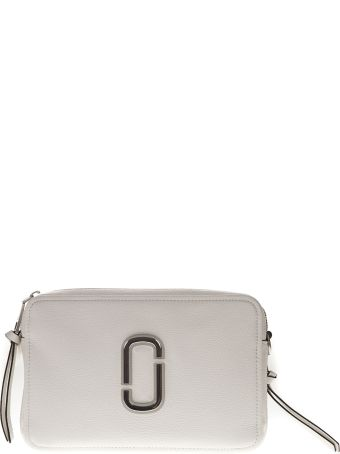 Marc Jacobs Soft 27 Bag In Porcelain-colored Leather