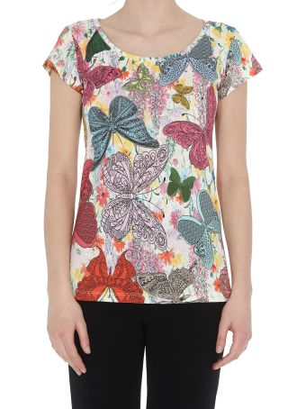 Ultrachic Butterfly Print T-shirt