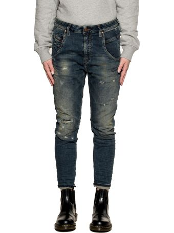 Diesel Blue/beige Fayza Denim Jeans