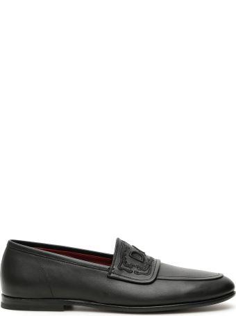 Dolce & Gabbana King City Calfskin Loafers