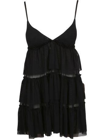 Fisico - Cristina Ferrari Fisico Tiered Babydoll Dress