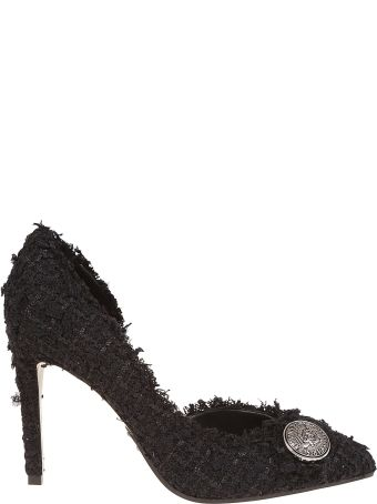 Balmain Julie 95-tweed Pumps