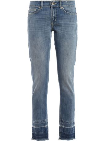 Dondup Faded Slim Jeans
