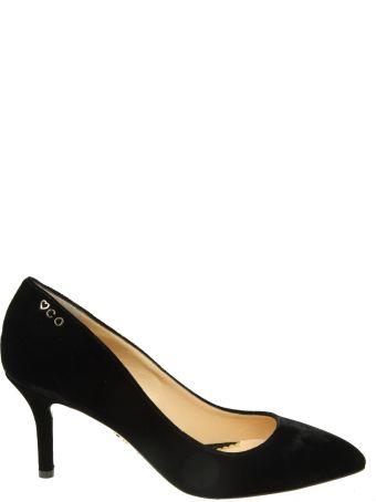 Charlotte Olympia Decollete In Velvet Color Black