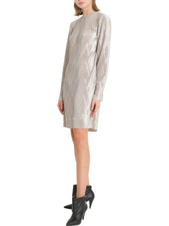 Givenchy Chevron Plissé Dress