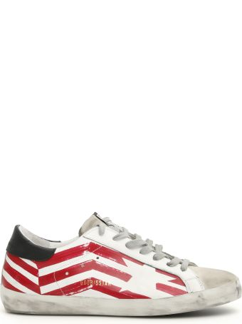 Golden Goose Superstar Flag Sneakers