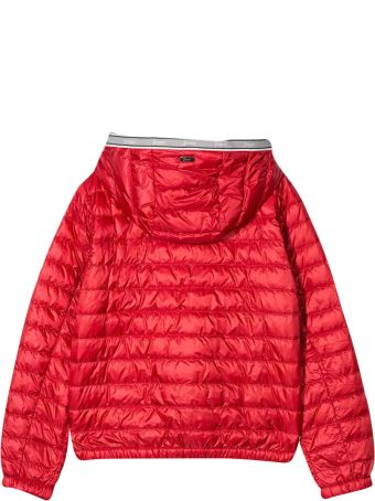 Herno Red Teen Padded Jacket