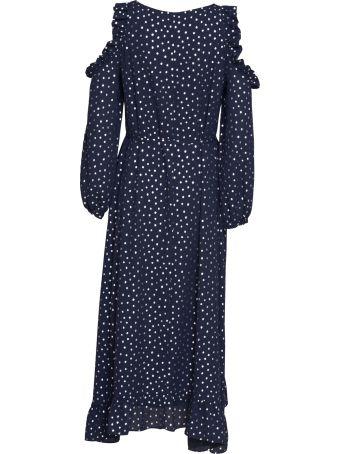 Essentiel Antwerp Open Shoulder Midi Dress