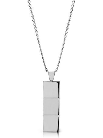 Northskull Layers Necklace Silver